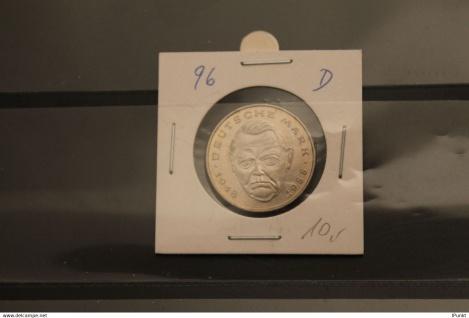 Deutschland; 2 Deutsche Mark Gedenkmünze: Ludwig Erhard, Jäger-Nr. 445, stg, 1996 D