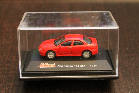 Alfa Romeo 156 GTA; Schuco; 1:87