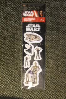Star Wars-Sticker; 3D-Sticker; 3-D Embossed Stickers; Star Wars - Aufkleber (9)