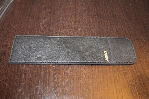 Mäppchen für 1-2 Schreibgeräte; Etui für 1-2 Schreibgeräte, LAMY, schwarz