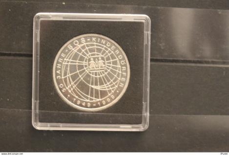 Bundesrepublik Deutschland; 10 Deutsche Mark; 1999; SOS-Kinderdörfer, Silber; stg; Jäger-Nr. 472