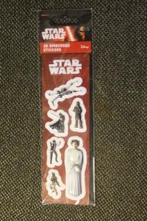 Star Wars-Sticker; 3D-Sticker; 3-D Embossed Stickers; Star Wars - Aufkleber (7)
