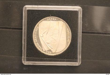 Bundesrepublik Deutschland; 10 Deutsche Mark; 1991; Deutscher Orden, Silber; stg; Jäger-Nr. 451