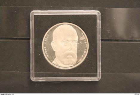 Bundesrepublik Deutschland; 10 Deutsche Mark; 1993/94; Robert Koch, Silber; stg; Jäger-Nr. 456
