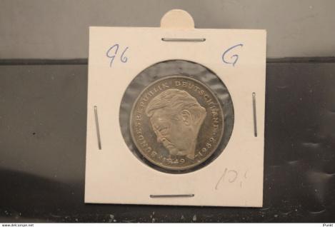 Bundesrepublik Deutschland, Kursmünze: 2 Deutsche Mark; Franz J. Strauß; 1996 G, Jäger-Nr. 450, stg