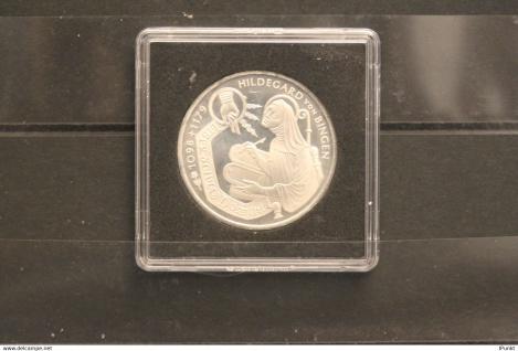 Bundesrepublik Deutschland; 10 Deutsche Mark; 1998; Hildegard von Bingen, Silber; stg; Jäger-Nr. 468