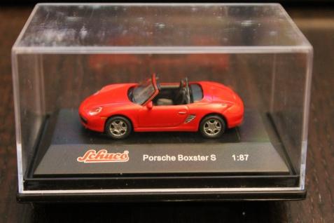 Porsche Boxster S; Schuco; 1:87