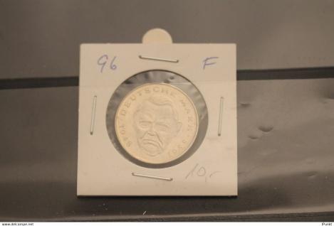 Deutschland; 2 Deutsche Mark Gedenkmünze: Ludwig Erhard, Jäger-Nr. 445, stg, 1996 F