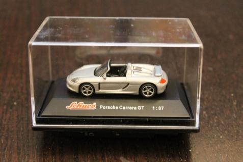 Porsche Carrera GT, silber; Schuco; 1:87