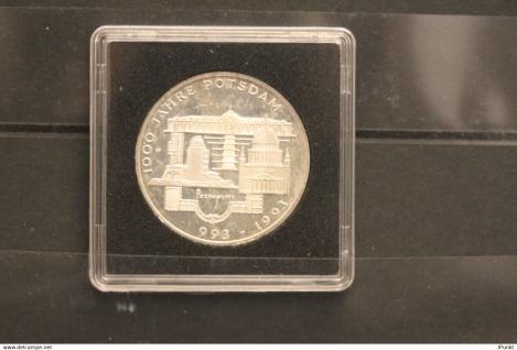 Bundesrepublik Deutschland; 10 Deutsche Mark; 1993; 1000 Jahre Potsdam, Silber; stg; Jäger-Nr. 455