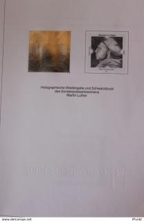 Deutschland, Hologramm-Marke des Ausgabe: Martin Luther; 8.2.1996; MiNr. 1841
