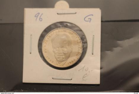 Bundesrepublik Deutschland, Kursmünze: 2 Deutsche Mark; Willy Brandt; 1996 G, Jäger-Nr. 459, stg