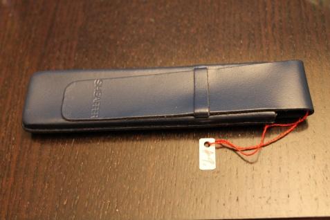 Mäppchen für 1 Schreibgerät; Etui für 1 Schreibgerät, dkl.-blau; Sheaffer