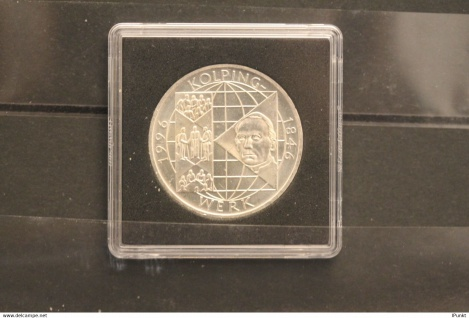 Bundesrepublik Deutschland; 10 Deutsche Mark; 1996; Kolpingwerk, Silber; stg; Jäger-Nr. 463