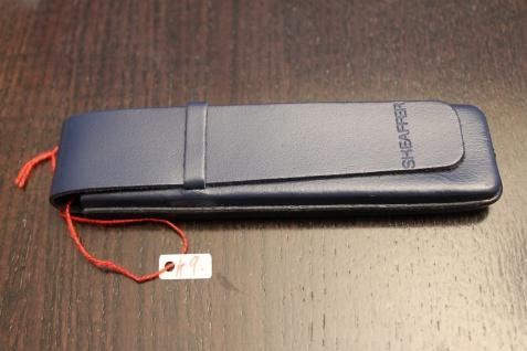 Mäppchen für 1 Schreibgerät; Etui für 1 Schreibgerät; dunkelblau