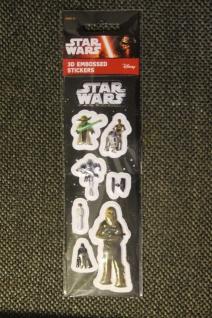Star Wars-Sticker; 3D-Sticker; 3-D Embossed Stickers; Star Wars - Aufkleber (6)