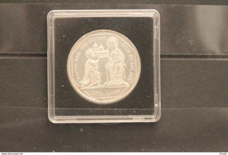 Bundesrepublik Deutschland; 10 Deutsche Mark; 2000; Karl der Große, Silber; stg; Jäger-Nr. 475
