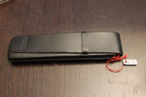 Mäppchen für 1 Schreibgerät; Etui für 1 Schreibgerät; schwarz