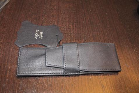 Mäppchen für 1-2 Schreibgeräte; Etui für 1-2 Schreibgeräte, schwarz