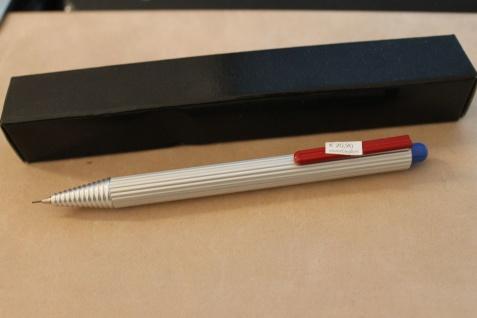 Druckbleistift, 0, 5 mm, Design-Bleistift; Aluminium