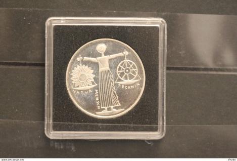 Bundesrepublik Deutschland; 10 Deutsche Mark; 2000; EXPO 2000 Hannover, Silber; stg; Jäger-Nr. 474