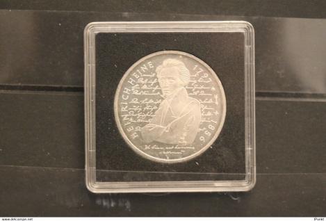 Bundesrepublik Deutschland; 10 Deutsche Mark; 1997; Heinrich Heine, Silber; stg; Jäger-Nr. 466