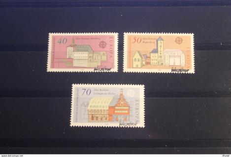Deutschland BRD EUROPA-Ausgabe 1978 mit Musterstempel; Muster-Marke