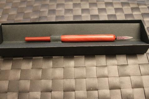 Zelluloid - Federhalter, Glasfederhalter; Vintage-Schreibgerät