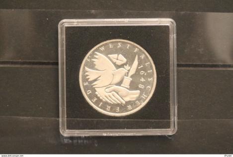 Bundesrepublik Deutschland; 10 Deutsche Mark; 1998; Westfälischer Friede, Silber; PP; Jäger-Nr. 467