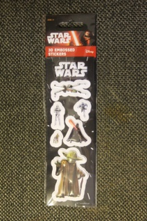 Star Wars-Sticker; 3D-Sticker; 3-D Embossed Stickers; Star Wars - Aufkleber (8)