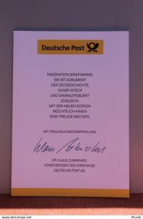 Ministerkarte SOS-Kinderdörfer; 10.06.1999; MiNr. 2062