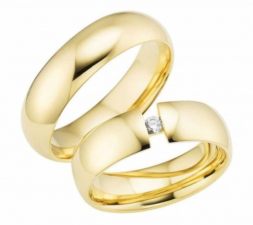 Cilor Trauringe Gelbgold RP03