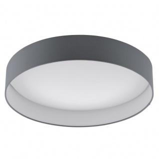 EGLO PALOMARO LED Deckenleuchte, rund, 500mm, weiss, anthrazit