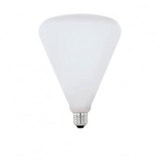 EGLO LED Leuchtmittel E27 R140 4W 470lm 2700K 300° opal dimmbar 140x190mm