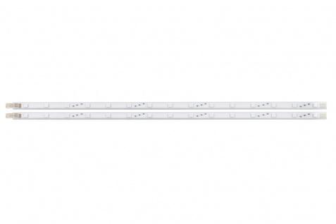 EGLO LED Stripe-System Set, 2x LED-Stab m. Kabel, Schalter u. Stecker weiss
