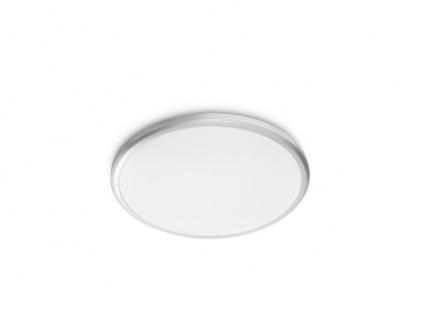 Philips myLiving LED Deckenleuchte Twirly 318148716, 1200lm, hellgrau