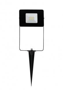 EGLO FAEDO 4 LED Erdspiessleuchte schwarz IP44 900lm 5000K