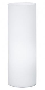 EGLO GEO Tischleuchte E27 weiss, Opalglas, 1-flg.