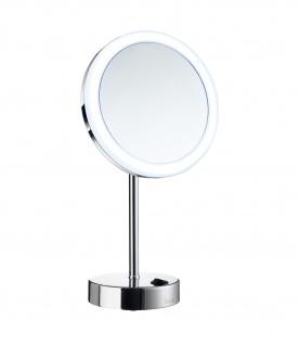Smedbo Outline Kosmetikspiegel mit Dual LED - PMMA rund chrom FK484EP