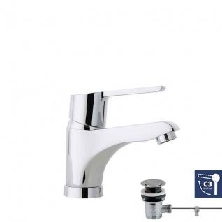 Ramon Soler Aquanova Fly C3 Einhebel Waschtischarmatur mit Zugstangenablauf 5591YK