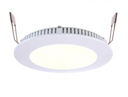 Deko Light LED Panel 8 Einbaustrahler weiß 470lm 2700-6000K >80 Ra 115° Modern