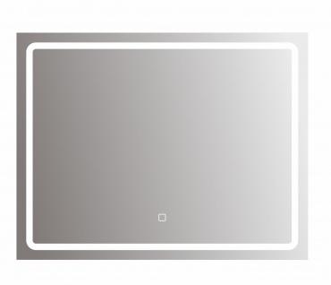 bhp Spiegel mit LED Beleuchtung rechteckig, 5mm, 120x70cm 220-240V, 3000/6500K
