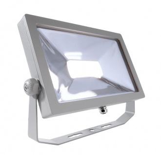 Deko Light FLOOD SMD II Außenstrahler LED silber IP65 4192lm 4000K >80 Ra 100° Modern
