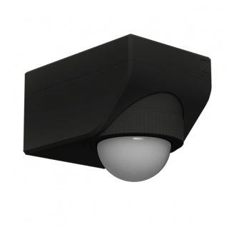 EGLO DETECT ME 4 Bewegungsmelder schwarz IP44