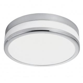 EGLO PALERMO LED Deckenleuchte DM225, 1-flg., chrom, weiss