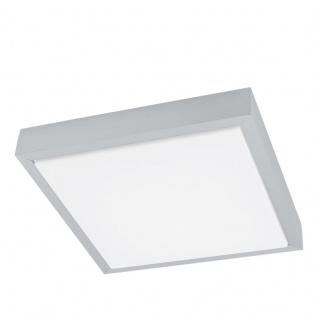 EGLO IDUN 1 LED Wand & Deckenleuchte, 280x280, alu-gebürstet