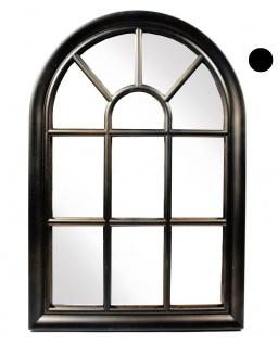 Bogenspiegel in Fensteroptik Kunststoff mit 11 Unterteilungen 56x38x3cm