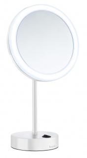 Smedbo Outline Kosmetikspiegel mit Dual LED - PMMA rund weiss FK484EW