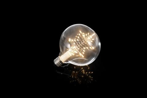 KONSTSMIDE LED Leuchtmittel Globe warm weiß, Tannenbaum