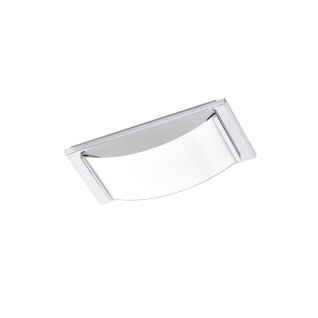 EGLO WASAO 1 LED Wand & Deckenleuchte, 1-flg., chrom, weiss